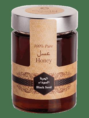 العسل بزّر أسود