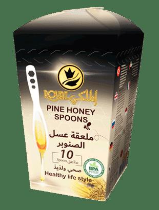 Pine honey spoon